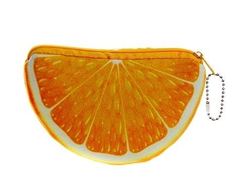 Huertuer Llavero Fruta Semicircular Naranja Llavero Llavero ...