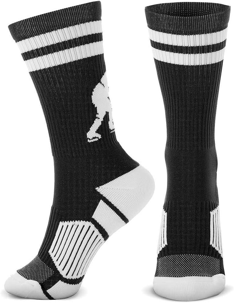 multiple colors Hockey Player Athletic Crew Socks