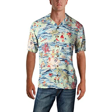 59179ab45ba Image Unavailable. Image not available for. Color  Polo Ralph Lauren Mens  Classic Fit Luau Casual Shirt ...