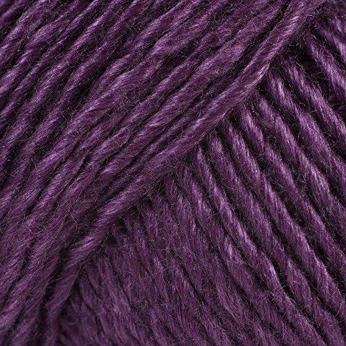 Louisa Harding Grace Silk & Wool Color #08 Dark Purple (Yarn 110 Yard)
