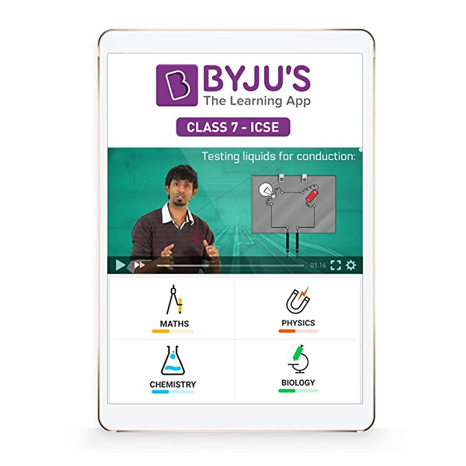 BYJU'S Class 7 - Maths & Science Preparation - ICSE - 7