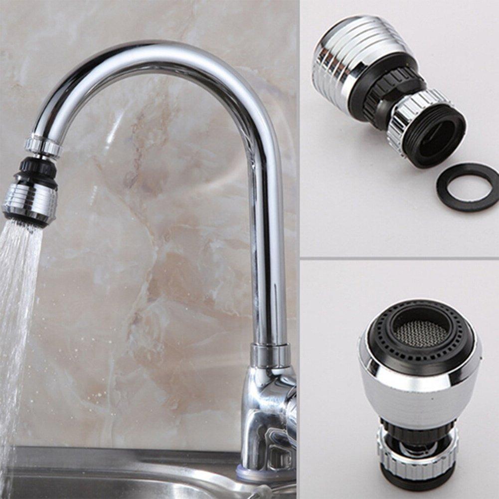ETbotu 360 Grad drehbar Wasserhahn Filter Spitze, Wasser Erzeugung Wasserhahn Spritzschutz Economiser Kü che Supplies