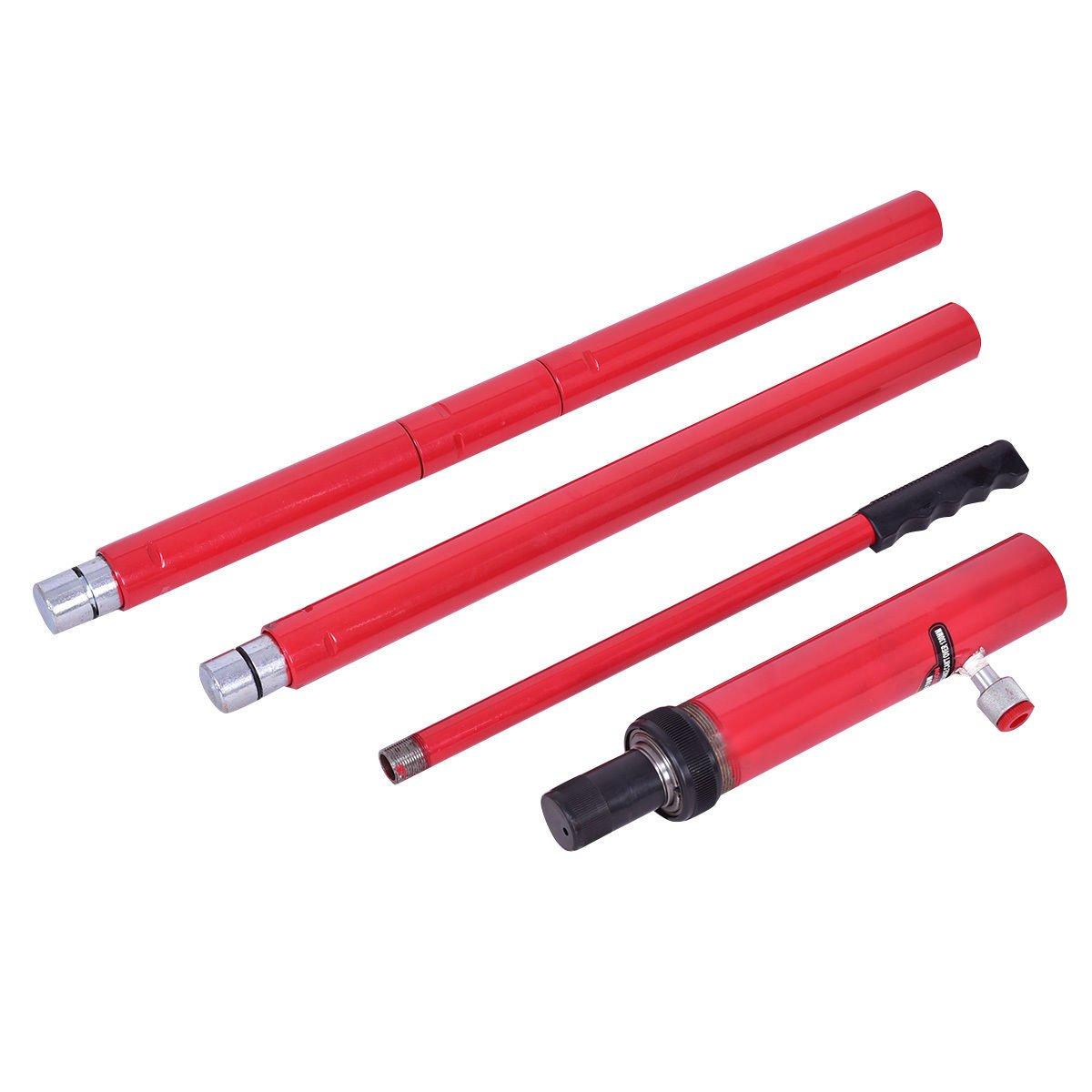 Goplus Porta Power Hydraulic Jack Auto Body Frame Repair Kit Shop Tool Lift Ram w/Carrying Case, 10 Ton Capacity by Goplus (Image #6)