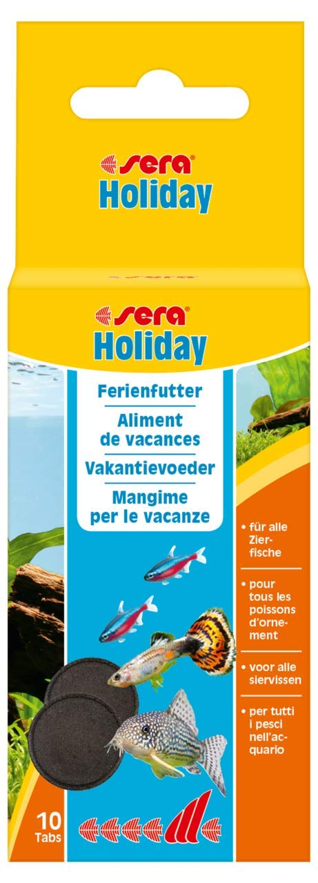 Sera 990 Holiday 0.8 oz 10 Table. Pet Food, One Size