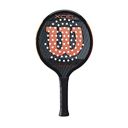 Amazon.com : Wilson Xcel Smart Platform Tennis Paddle ...