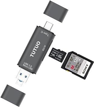 Amazon.com: TUTUO Card Reader SD/Micro SD (TF) 3 in 1 ...