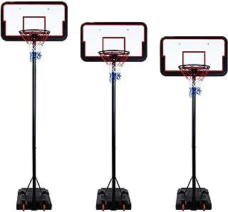 Alcachofa Ajustable de 3 Metros de Altura, 205-305 cm de Peso, con contrapeso Pesado para Baloncesto B