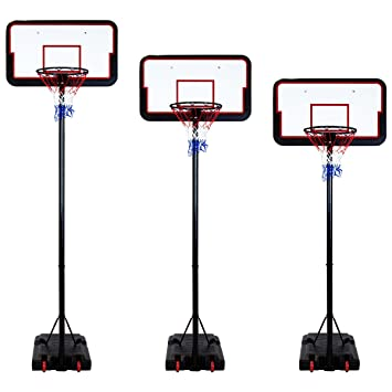 Generic - Canasta de Baloncesto Ajustable (3 m, 205-305 cm, Altura ...