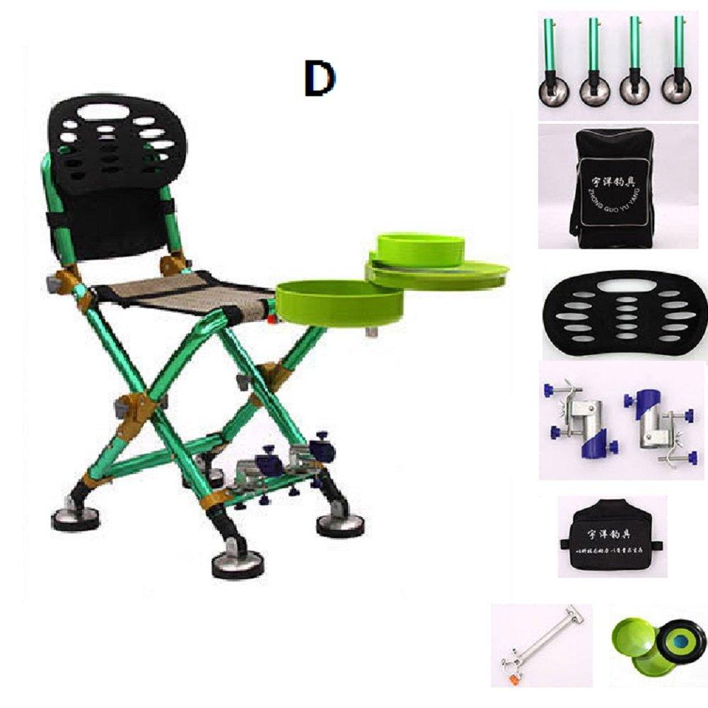 爆買い! 軽量 釣り椅子 釣り 折り畳み式 椅子,プロ B07FKYJ6G7 アウトドアチェア 折りたたみ スツール アルミ合金 釣り椅子 軽量 D B07FKYJ6G7, フィッシャーマンズワーフさかい:0319c5bf --- diesel-motor.pl