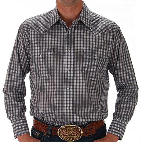 Panhandle Mens Plaid Snap Shirt XL Multi - Panhandle Slim Snap Shirt