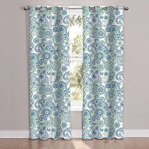 Sweet Home Collection PNL-MDRNPSLY-84 2 Piece Window Curtain Panel Set 38