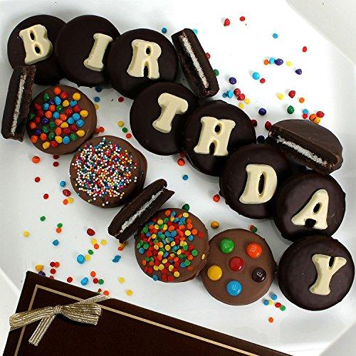 Birthday Belgian Chocolate-Covered Oreo Cookies (14 pc.)