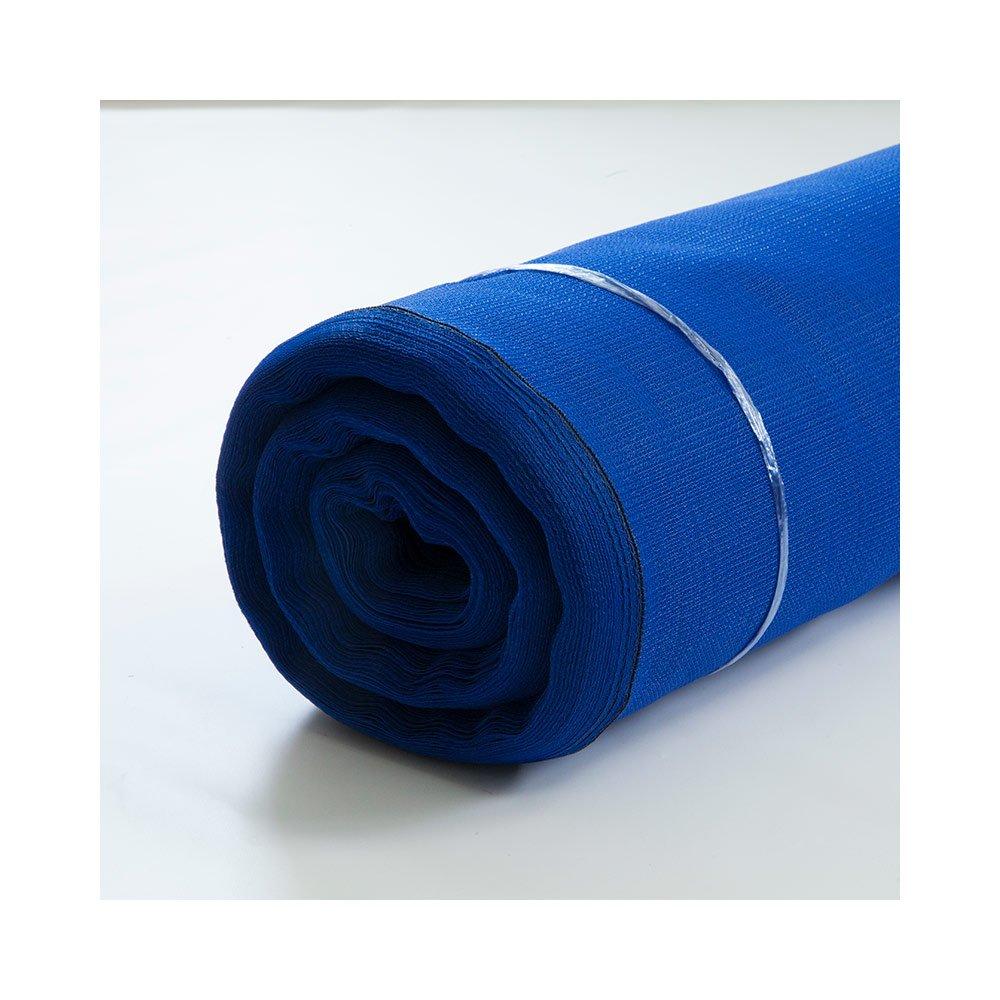 防風ネット 農業用資材 ■ブルー JQ5 1mm目 既製サイズ 幅2m×長さ50m B0771GVKP3 目合い 1mm目 幅2m×長さ50m|ブルー ブルー 目合い 1mm目 幅2m×長さ50m