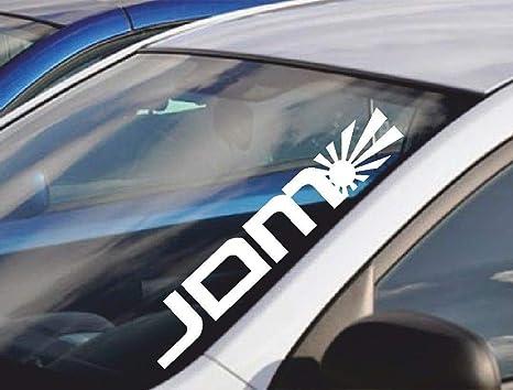 For 55cm Windschutz Aufkleber Jdm Rising Sun Lustiger Auto