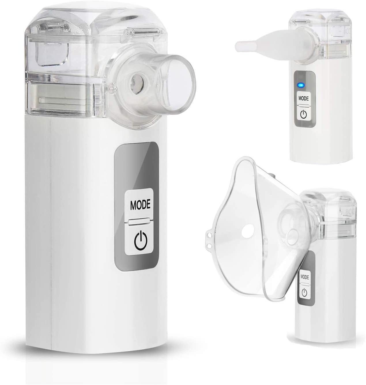 MAYLUCK Handheld Mini Nebuliser Portable Nebulisers for Travel Home Daily Use