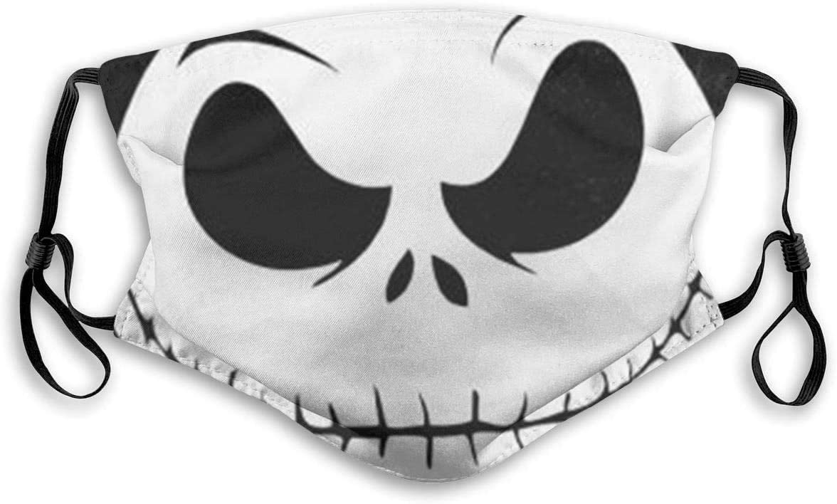 "Maske mit ""Comic-Totenkopf""-Motiv"