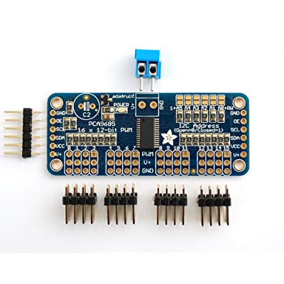 Adafruit 16-servo Controller Driver WITH PWM pour Arduino, [Import UK]