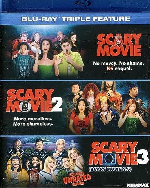 Scary Movie 1-3 Edizione: Stati Uniti Reino Unido Blu-ray: Amazon.es: Carmen Electra, Shawn Wayans, Marlon Wayans, Shannon Elizabeth, Cheri Oteri, Dave Sheridan, Frank B Moore, Giacomo Baessato, Kyle Graham, Leanne Santos, Mark