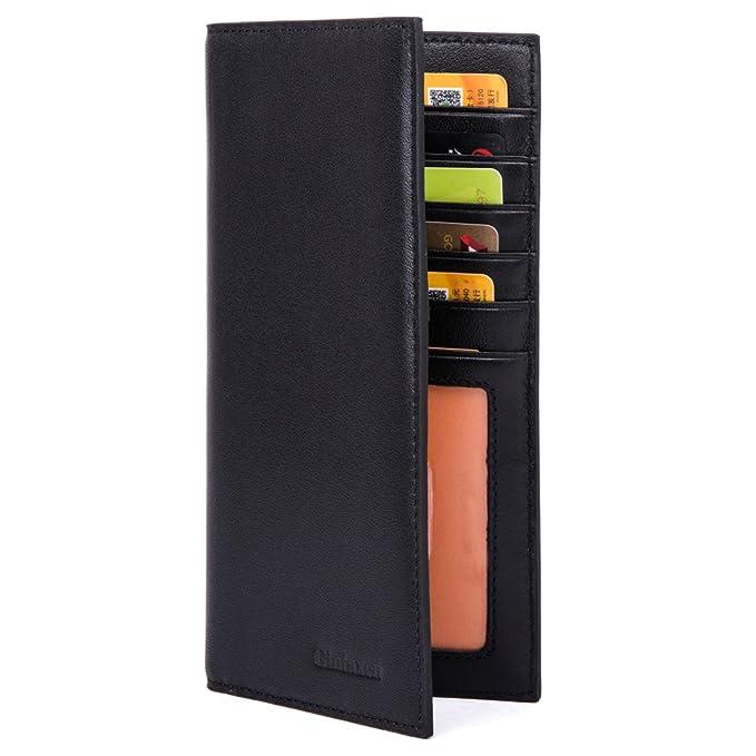Amazon.com: Billetera larga con tecnología RFID ...