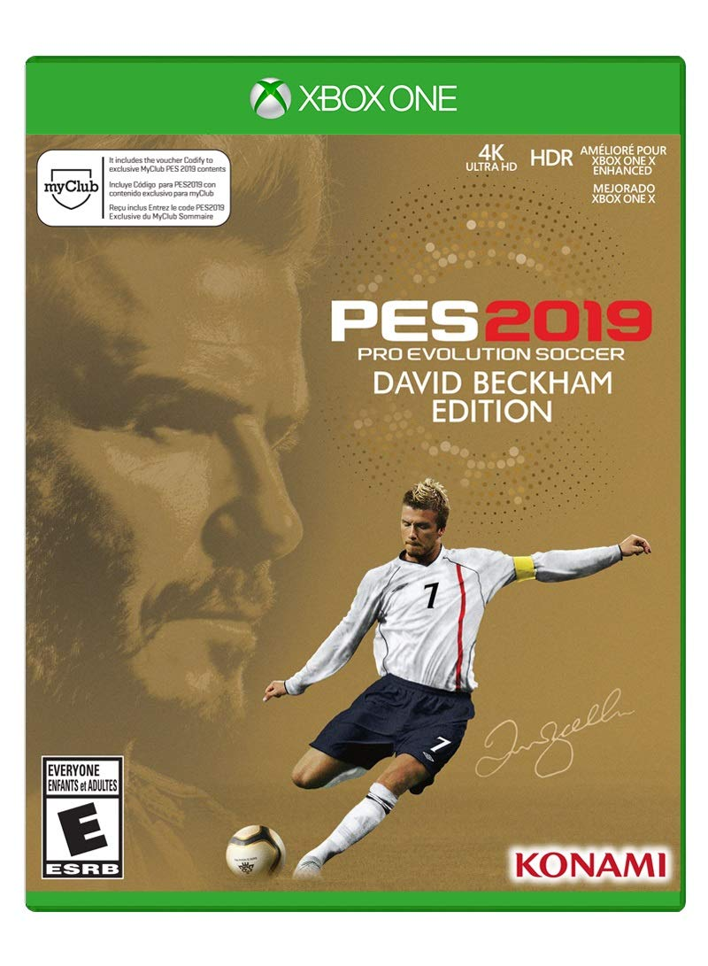 Pro Evolution Soccer 2019 - Xbox One David Beckham Edition