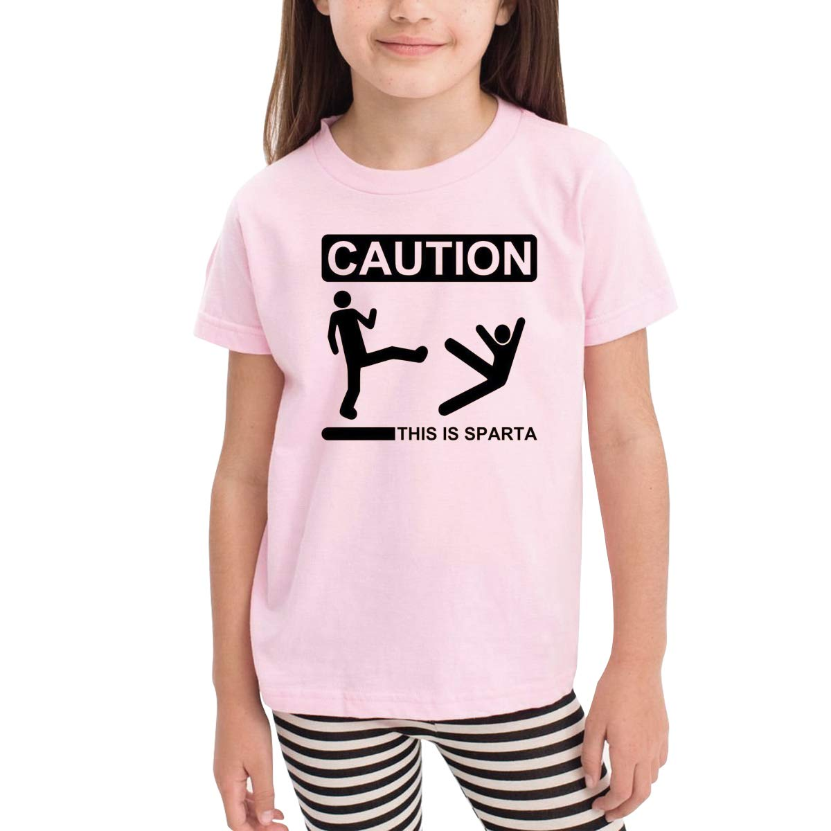 Funny Human Humor Novelty Cotton T Shirt Personality White Tee for Toddler Kids Boys Girls