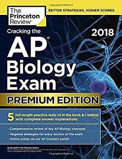 Amazon barrons ap biology with cd rom 5th edition cracking the ap biology exam 2018 premium edition college test preparation fandeluxe Image collections