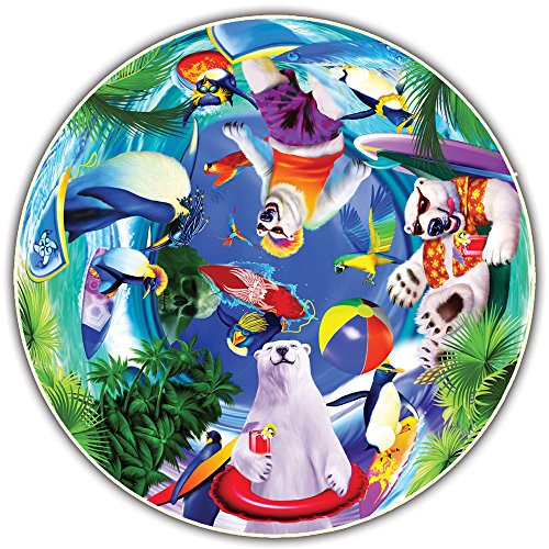 Round Table Puzzle - Kids' Edition - Polar Chill (50 Piece) by A Broader View