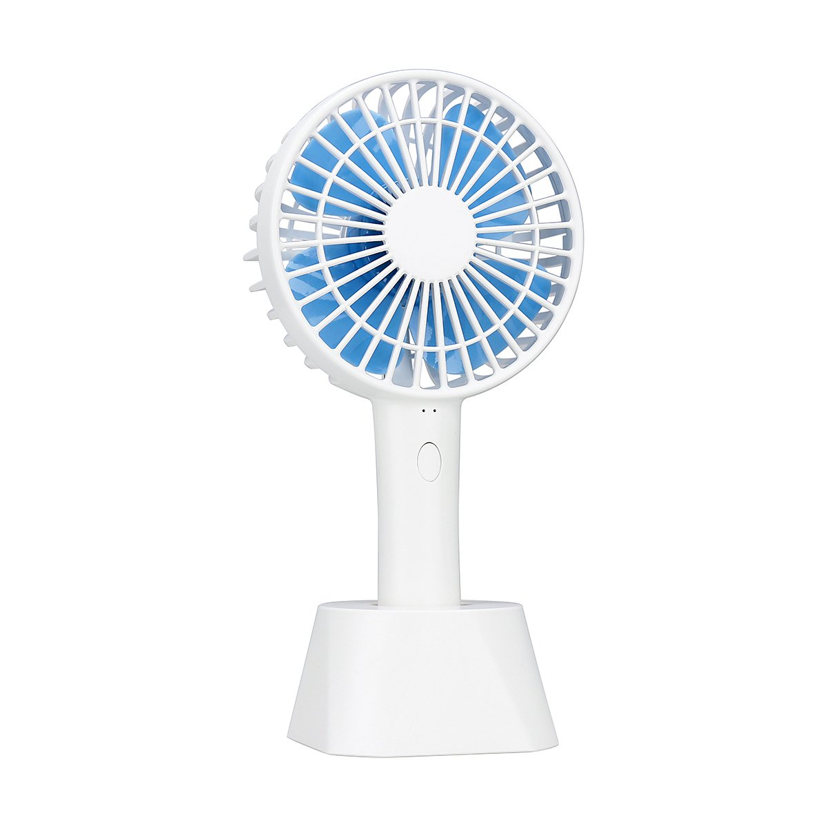 Handheld Fan - USB Fan Mini Fan Outdoor Fan - Adjustable 3 Speeds Foldable Handheld Personal Fan