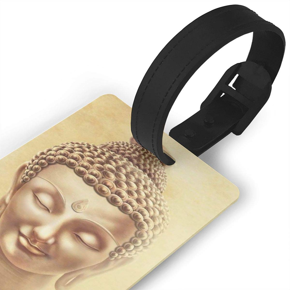 2 Pack Luggage Tags Buddhism Cruise Luggage Tag For Suitcase Bag Accessories