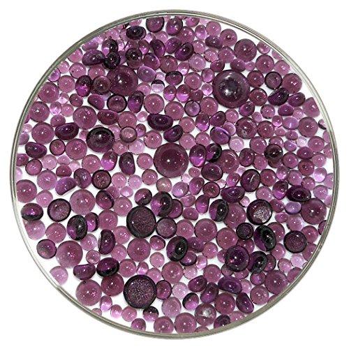Bullseye Light Violet (Light Violet Transparent Frit Balls - 90COE, New Larger 1oz Size - Made from Bullseye Glass)