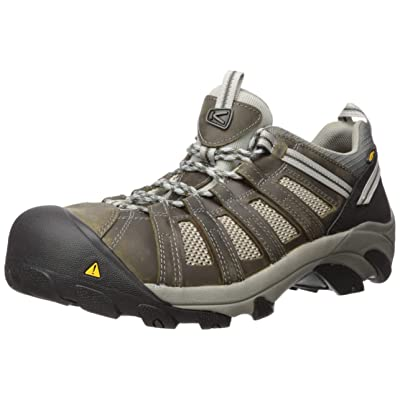 KEEN Utility Men's Flint Low Steel Toe Work Shoe | Industrial & Construction Boots