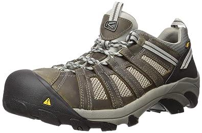 c9cf64dc1e1 KEEN Utility Men's Flint Low Steel Toe Work Shoe