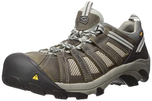 Amazon.com: KEEN Utility, zapato de acero Flint Low, para ...