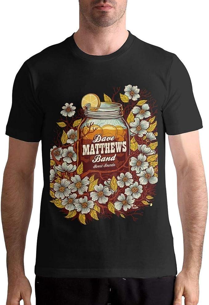 Dave Matthews Band T Shirt Camisa de Manga Corta para Hombres ...
