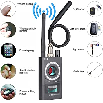 JMDHKK Anti Spy RF detector wireless Bug detector signal for