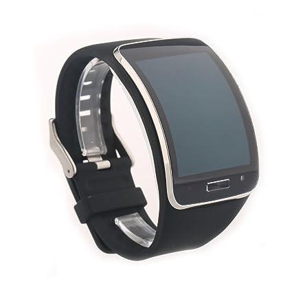 VAN+ Correa de reloj para samsung Galaxy Gear S pulsera R750 SmartWatch Bandas de reemplazo de