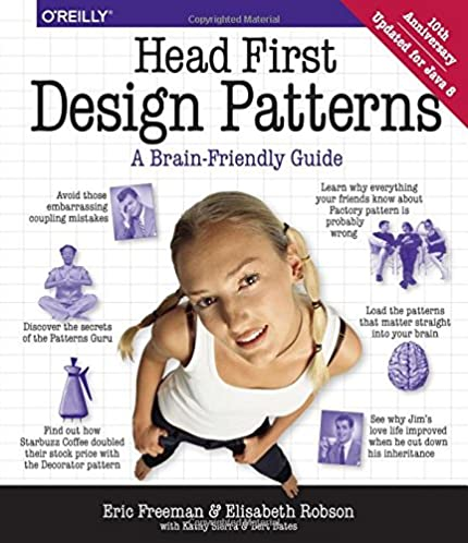 head first design patterns a brain friendly guide eric freeman rh amazon com head first python a brain-friendly guide head first jquery a brain-friendly guide