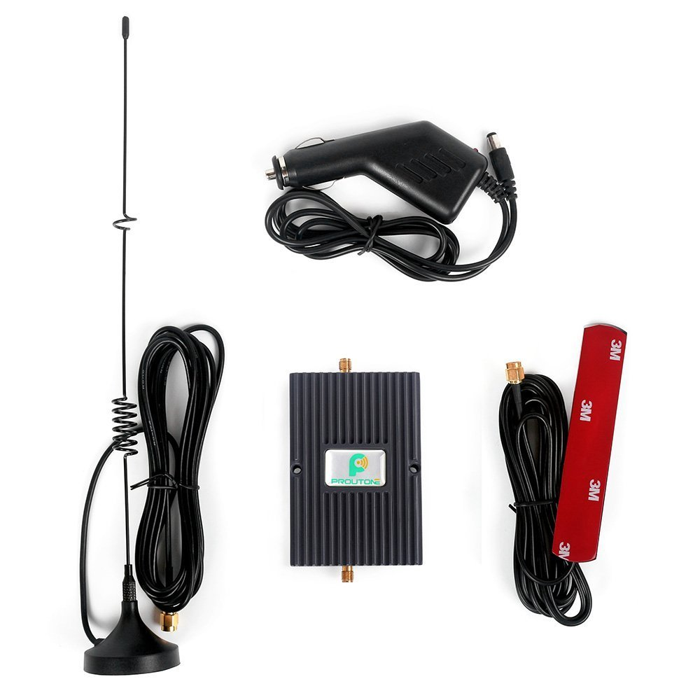 Car Cell Signal Booster Antenna 4G LTE 700MHz Verizon Cell Phone Booster for Truck RV Use (Car Cell Signal Booster)