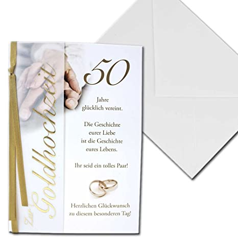 Carte Dinvitation Mariage Avec Motif En Or De Mariage 50