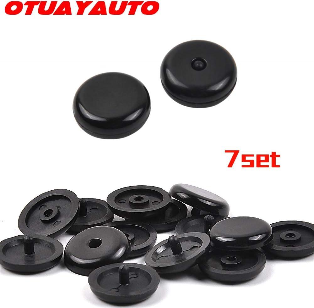 7er Paare Universal Autogurt Knopf Für Alle Kfz Marken Sicherheitsgurt Stopper Gurt Rücklauf Sperre Aus Hartplastik Auto