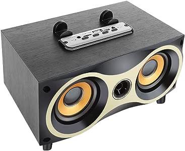 مكبر صوت, سبيكر بلوتوث تصميم عصري, مع مشغل MP3 وربط مكالمات الجوال ومداخل ذاكرة, وراديو
