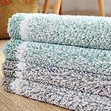 Kitchen Rugs,O'Family Non Slip Microfiber Bath Rugs