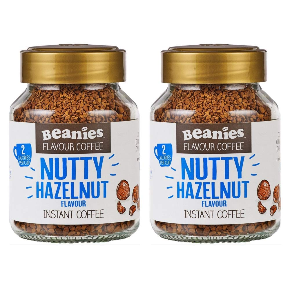 Beanies Nutty Hazelnut 2 x 50g Jars