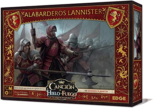 Edge Entertainment- Canción de hielo y fuego el juego de miniaturas - Alabarderos Lannister, Color (EECMSI22): Amazon.es: Juguetes y juegos