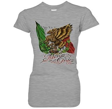 Amazon Com Mexican Pride Waving Mexico Flag Golden Eagle Snake