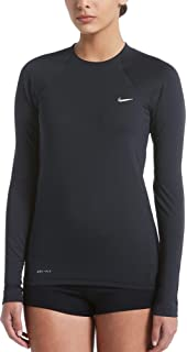 11d126ff Amazon.com: Nike Long Sleeve Hydroguard Female: Clothing