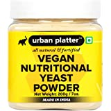 Urban Platter Nutritional Yeast Powder, 200g [All Natural, Fortified, Vegan-Friendly]