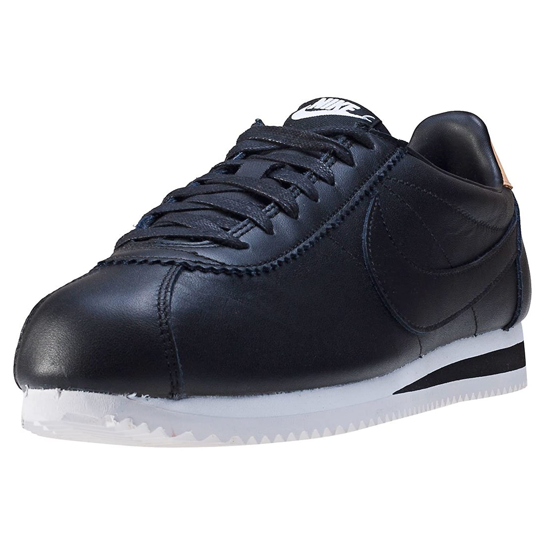 Nike Schuhe ndash; Classic Cortez Leather Se Schwarz/Schwarz/Creme  45 EU