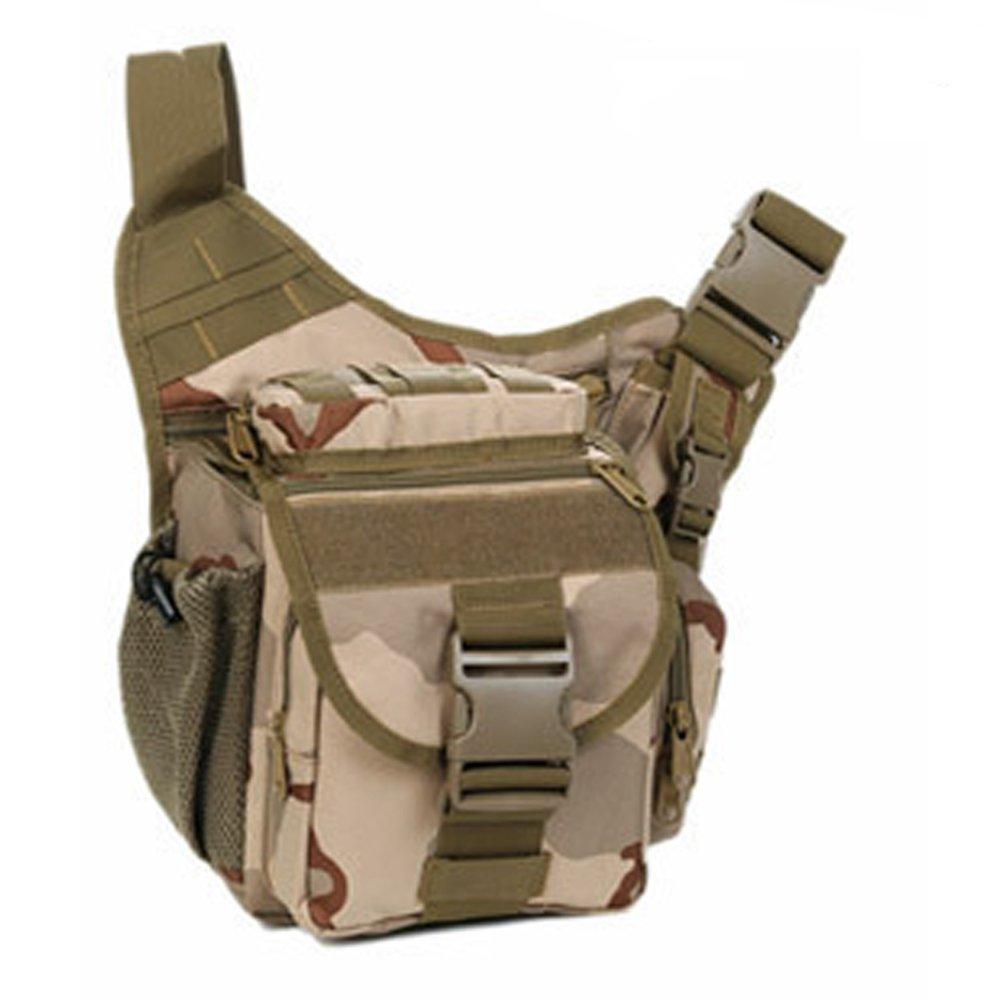 YAAGLE Tarnung satteltasches Paket bauchtasche gürteltasche hüfttasche Umhängetasche Kameratasche Outdoor Schultertasche militärisches satteltasches Paket-braun 40555365620-braun