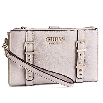 Guess - Cartera para Mujer Beige Beige 18,5 x 11,5 x 2,5 cm: Amazon.es: Equipaje